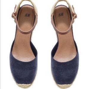 Shoes - H&M Wedge Heel Espadrilles